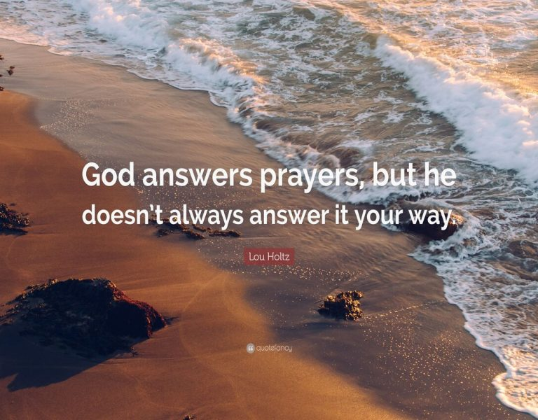 When God Answers