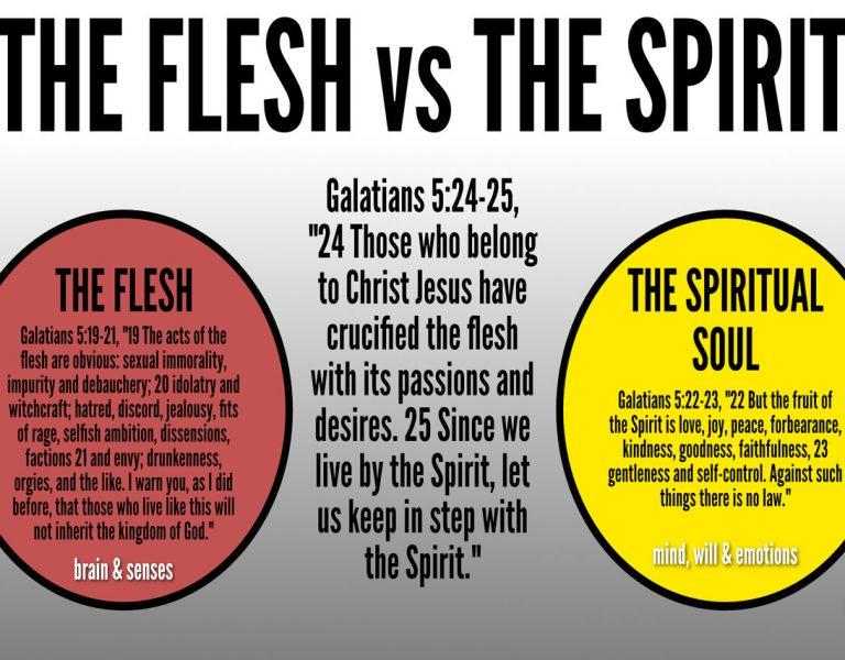 Fruits of the Spirit vs Fruits of the Flesh!